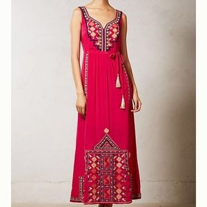 Anthropologie Vanessa Virginia Dayak Maxi Dress